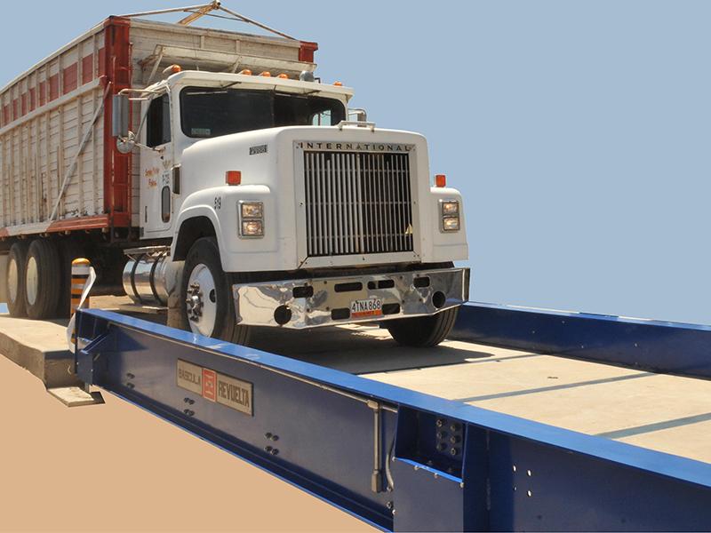 Resultado de imagen para basculas para camion