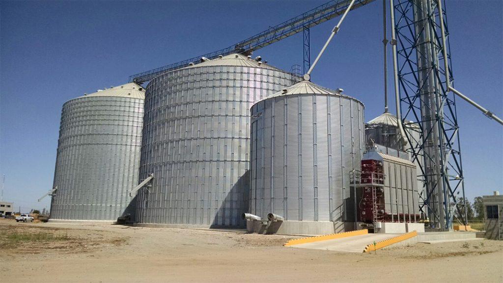 bunkers de grano