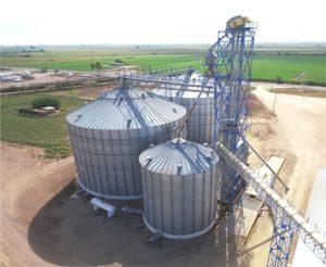bunker de grano